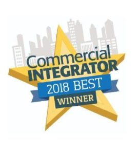 Commercial Integrator BEST Award